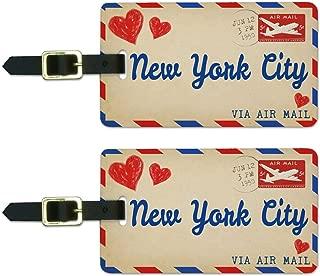 nyc luggage tags