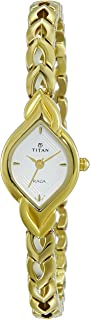 Raga Women's Bracelet Watch – Quartz, Water Resistant – Gold Band and Silver Dial