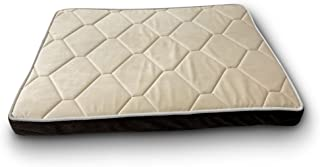 Pet Craft Supply Co. Premium Orthopedic Mat Pet Bed Crate Kennel Mat, Removable Washable Cover