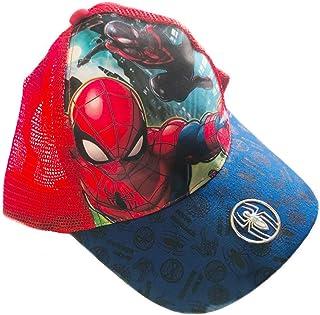 Spiderman Gorra Infantil Premium Rejilla Marvel Azul Roja 4023