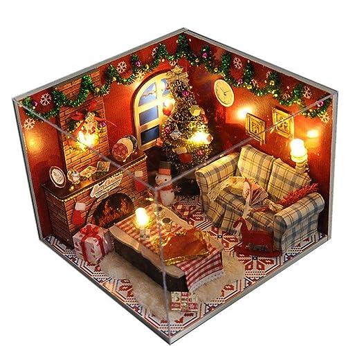 Christmas Dollhouse Miniatures.Christmas Dollhouse Miniatures Amazon Com