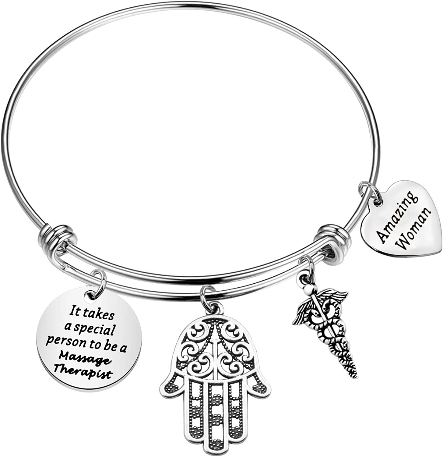 TIIMG Massage Indefinitely Therapist Gift Don't miss the campaign Bracelet Apprecia