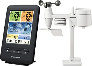 Bresser Draadloos weerstation met buitensensor, wifi, 5-in-1, met buitensensor voor temperatuur, luchtvochtigheid, luchtdr...