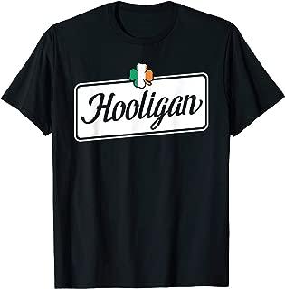Hooligan Irish Shamrock Flag - St Patrick's Day T-Shirt
