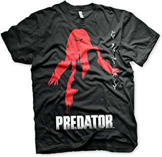 The Predator Officially Licensed Poster Mens T-Shirt (Black)