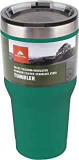 Ozark Trail 30-Ounce Double-Wall, Vacuum-Sealed Tumbler, Green