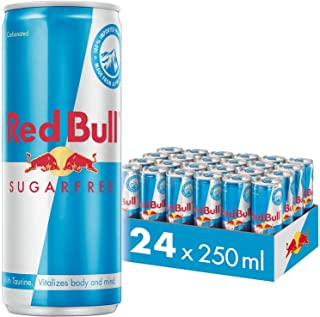 Red Bull Sugar Free, 250ml (Pack of 24)