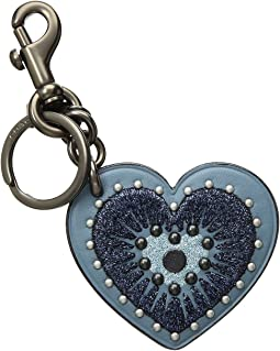 Heart Applique Bag Charm