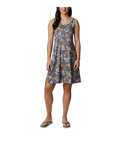 Columbia Freezer III Dress (Tradewinds Grey Archive Palms Print) Women