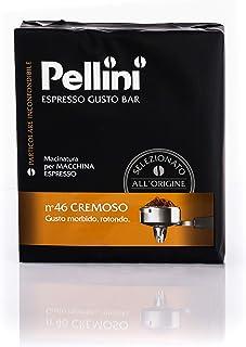 Pellini Espresso Gusto Bar N° 46 Cremoso, 2 Confezioni da 250 g