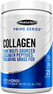 Collagen Peptides Powder | MuscleTech Prime Series Hydrolyzed Collagen Powder | Collagen Supplements for Women and Men | C...