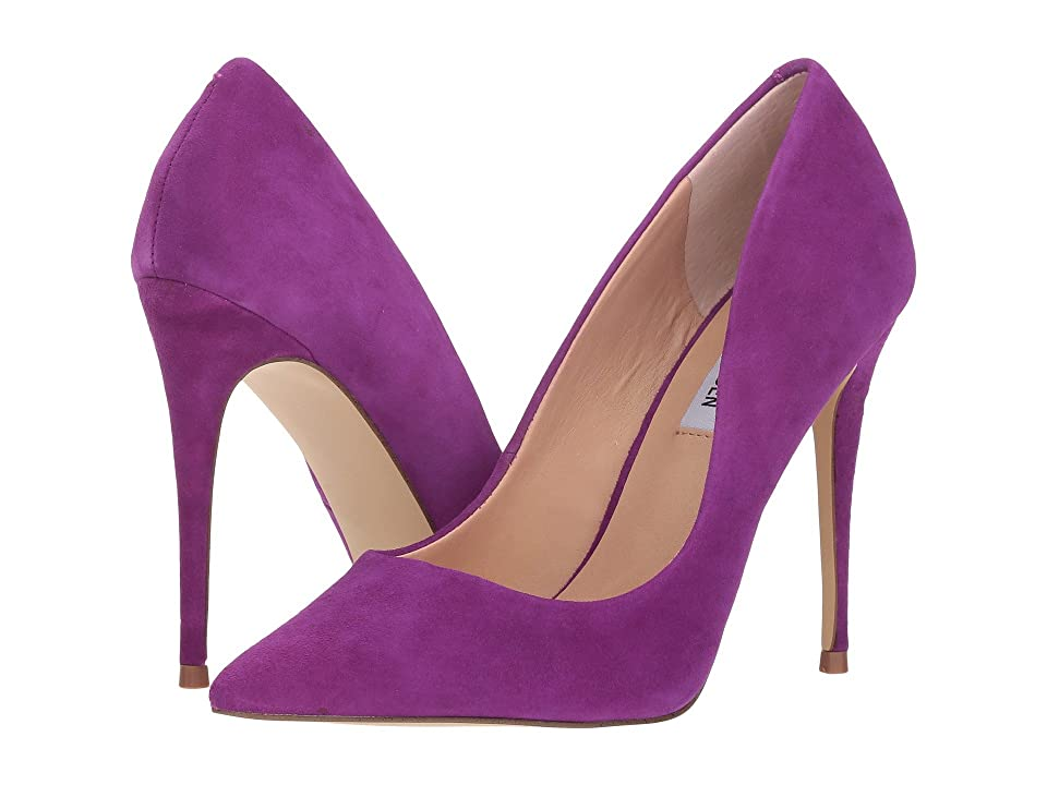Steve Madden Daisie Pump (Purple Suede) Women