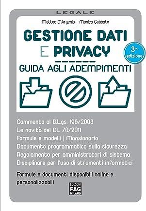 Gestione dati e privacy