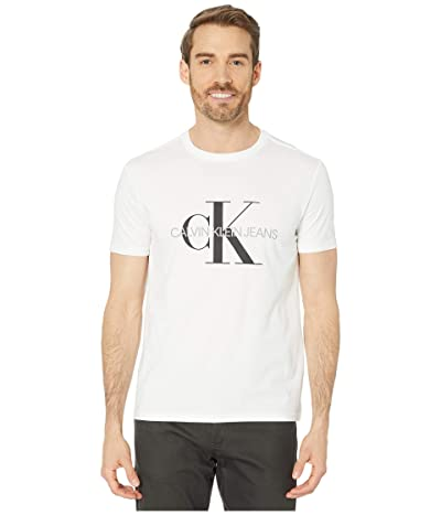 Calvin Klein Monogram Crew Neck T-Shirt Men