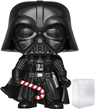 Funko Pop! Star Wars: Holiday - Darth Vader with Candy Cane Vinyl Figure (Includes Pop Box Protector Case)