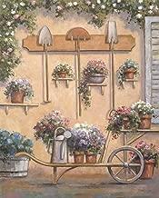 Pot of Flowers 2 by Debra Lake Art Print, 12 x 15 inches