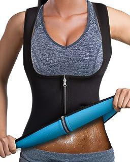 Women Slimming Vest Neoprene Body Shaper Hot Sweat Top Weight Loss Shapewear