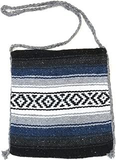 Falsa Blanket Mexican Tote Bag (Blue Grey)