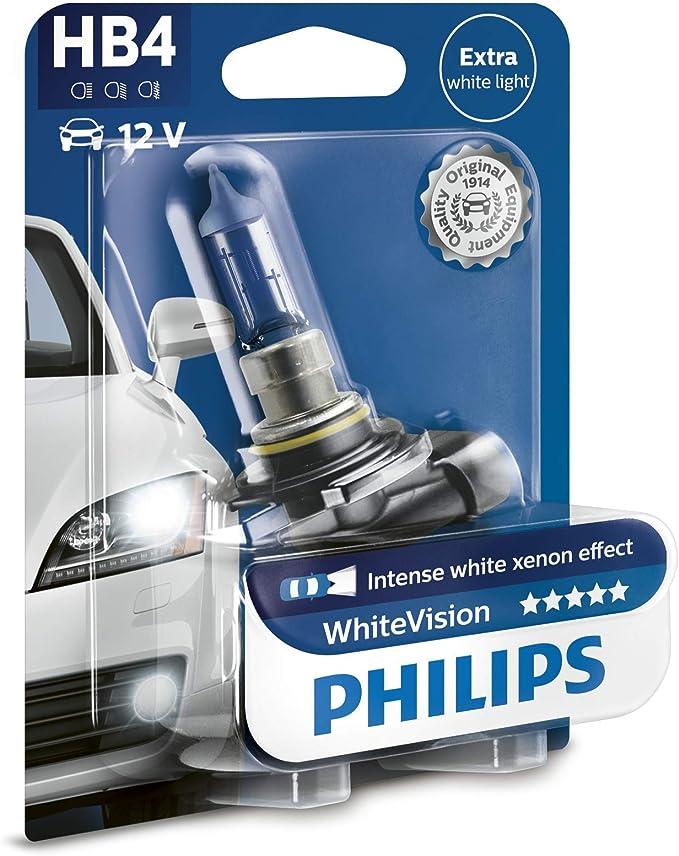Philips Whitevision Xenon Effekt H3 Scheinwerferlampe 12336whvb1 Einzelblister Auto