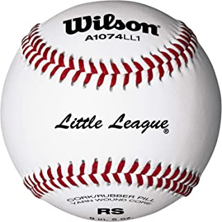 Wilson Youth League and Tournament Baseballs (One Dozen)