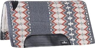 Classic Equine Sensorflex Saddle Pad, Wool Top Straight