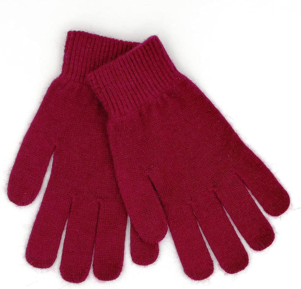 iMongol-Pure Cashmere Women Full Fingers Gloves ladies Gloves Mittens- gloves knitted