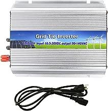Meshbean 500W Grid Tie MPPT Power Inverter Converter for Solar Panel System Pure Sine Wave USA (500W Solar Input 10.8v - 30v DC)
