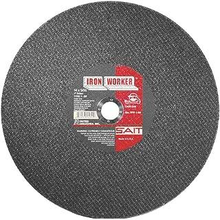 United Abrasives-SAIT 24031 Type 1 12-Inch x 3/32-Inch x 1-Inch IronWorker Chop Saw Wheel, 10-Pack