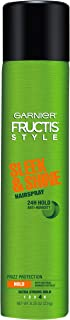 Garnier Fructis Style Sleek & Shine Anti-Humidity Hairspray Ultra Strong Hold, 8.25 Ounce