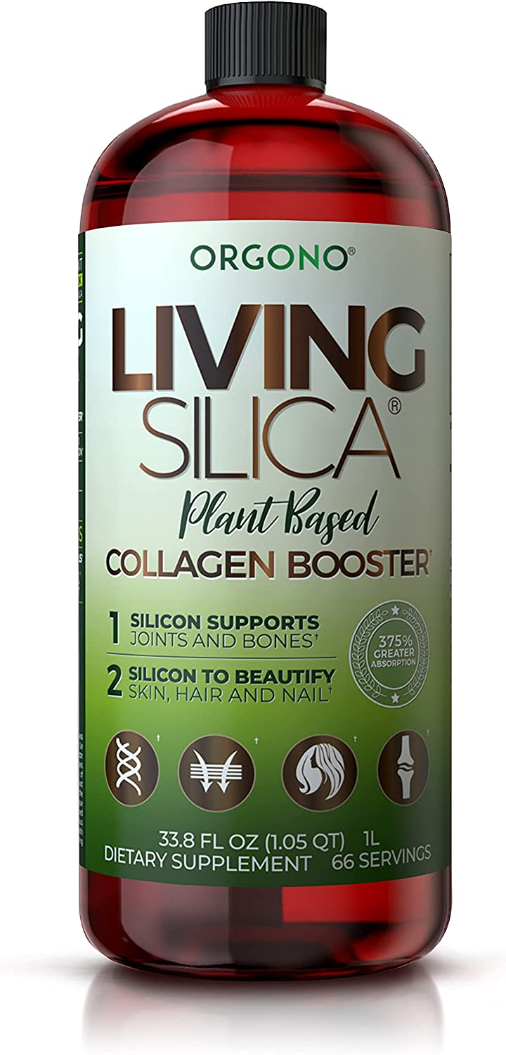 Living Silica Plant Based Booster Vegan Ranking Weekly update TOP6 Boos Collagen