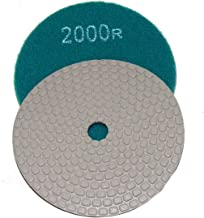 4 Inch Alpha Ceramica Dry Polishing Pad for Natural Stone - 2000 Grit