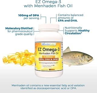 Menhaden Fish Oil Omega-3 2000 mg DPA + EPA + DHA (90)