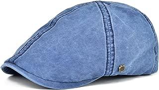 Ivy Caps 100% Cotton Washed Plain Flat Caps Newsboy Caps Cabbie hat