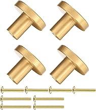 4 stuks kastknoppen, handgrepen meubelknoppen, metalen kastgrepen, meubelknoppen vintage, gouden keukengrepen, kastknoppen...