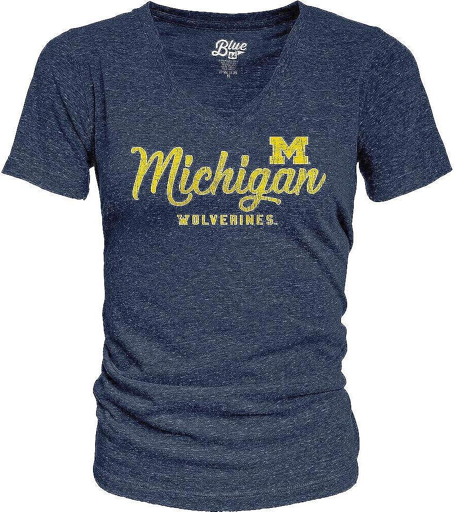 Elite Fan Shop NCAA Womens Vneck Tshirt Tri Blend