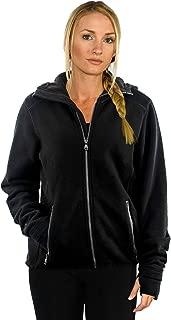 Women's Merino Wool Sweatshirt – Full Zip Hooded Wool Hoodie – The Cubby