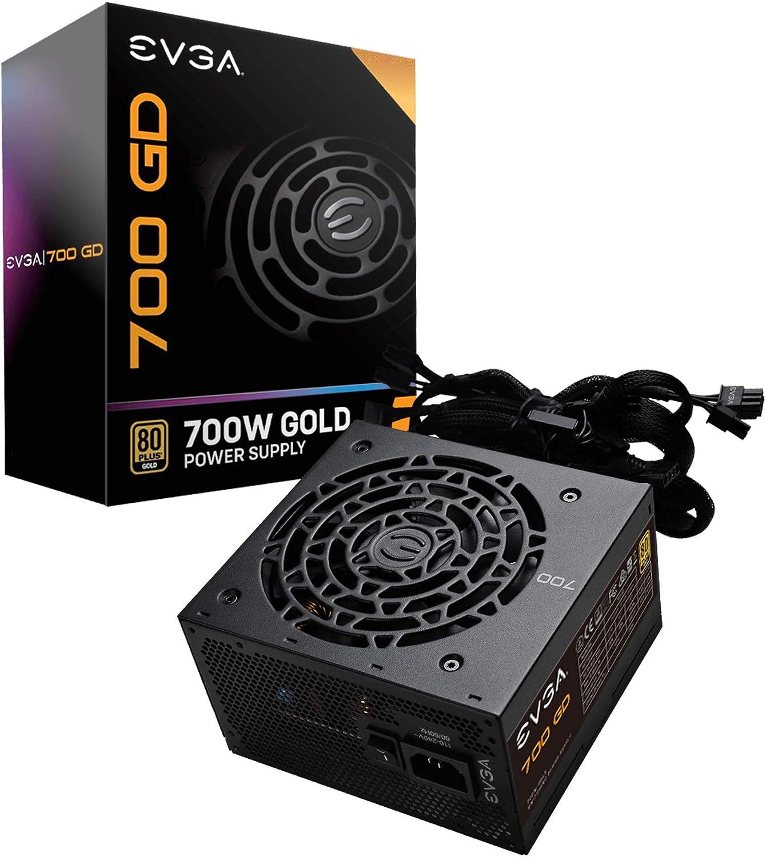 EVGA 700 GD, 80+ GOLD 700W, Fuente de Alimentación 100-GD-0700-V2