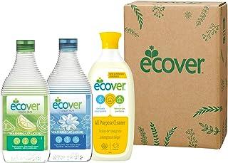 エコベール 洗剤ギフト ECG-20-7 (食器用洗剤レモン450mL + 食器用洗剤カモミール450mL + 住まい用洗剤500mL)