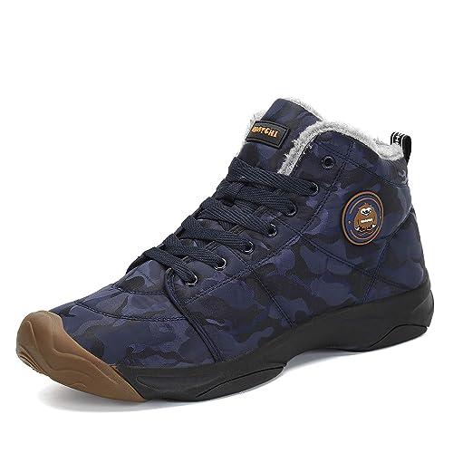 9e84d291f3e Womens Waterproof Warm Walking Boots: Amazon.com