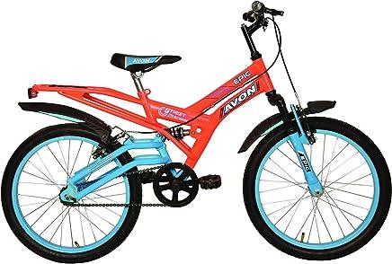 48e1be6fec1 Avon Boy's Steel Epic 20T Cycle (Florescent Orange/Sky Blue,  09BCCBKDAV106779)