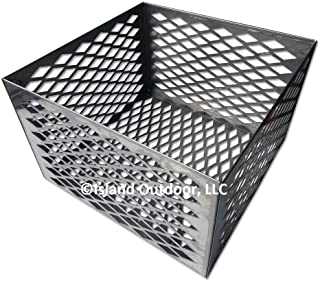 TimmyHouse Charcoal basket fire box Oklahoma Joe longhorn highland BBQ Smoker STAINLESS