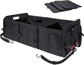 Autoark Multipurpose Car SUV Trunk Organizer,Durable Collapsible Adjustable Compartments Cargo Storage,AK-072