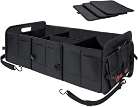 AUTOARK Multipurpose Car SUV Trunk Organizer,Durable Collapsible Adjustable Compartments Cargo Storage,AK-072