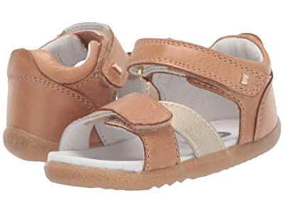 Bobux Kids Step Up Sail Sandal (Infant/Toddler) (Caramel/Misty Gold) Girl