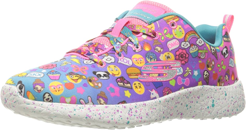 Skechers Enfants Girls' Burst-Emoti-Cucravate paniers, Multi, 11 M US Peu Enfant