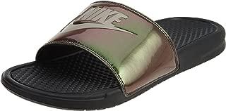 631261-003 : Men's Benassi Just Do It-Print Slide Sandals (9 M US)
