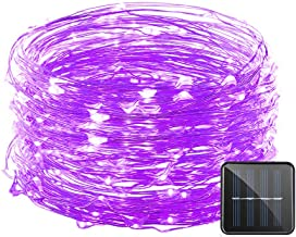Vmanoo Solar String Lights, 32 Feet 100 LED Starry String Lights Copper Wire Lights, Indoor Outdoor Lighting for Home, Gar...