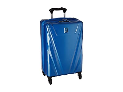 Travelpro 21 Maxlite(r) 5 Expandable Carry-On Hardside Spinner (Azure Blue) Luggage