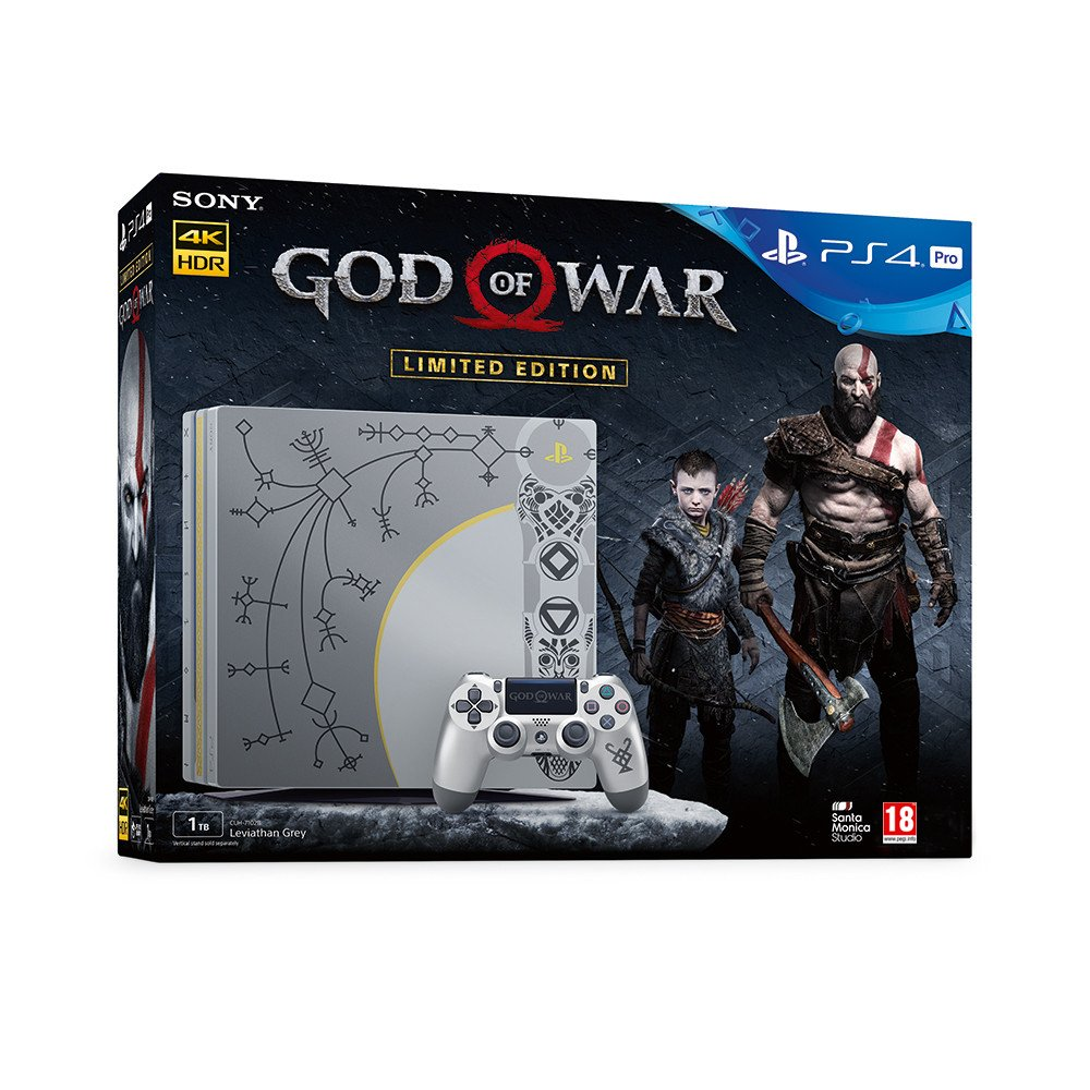 PlayStation 4 Pro + God Of War - Limited Edition [Bundle ...