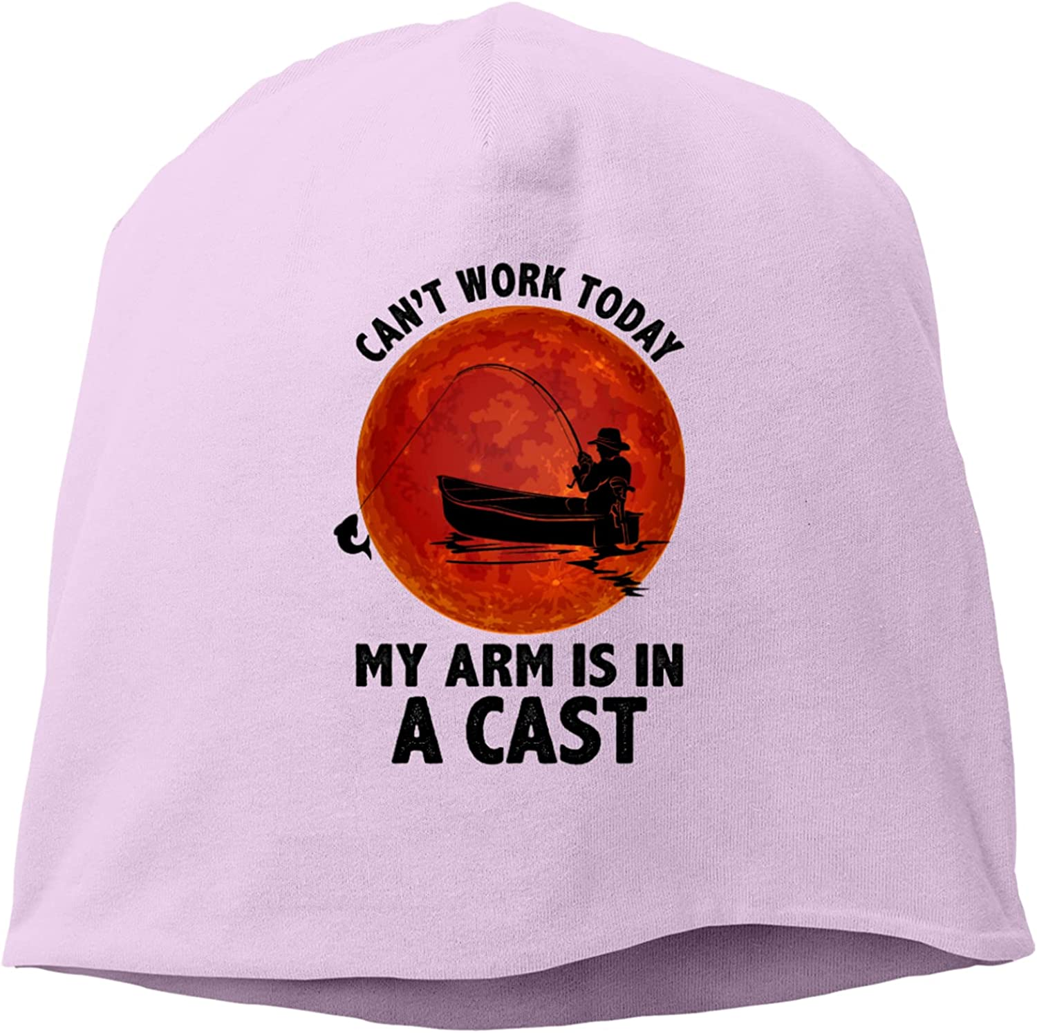 Can't Work Today My Popular product Arm is A Hed Cast in Knitted Hat,Unisex Max 71% OFF